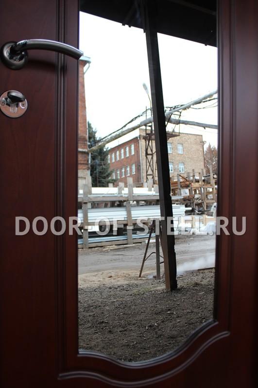 двери квартирные входные с верхней вставкой в вао