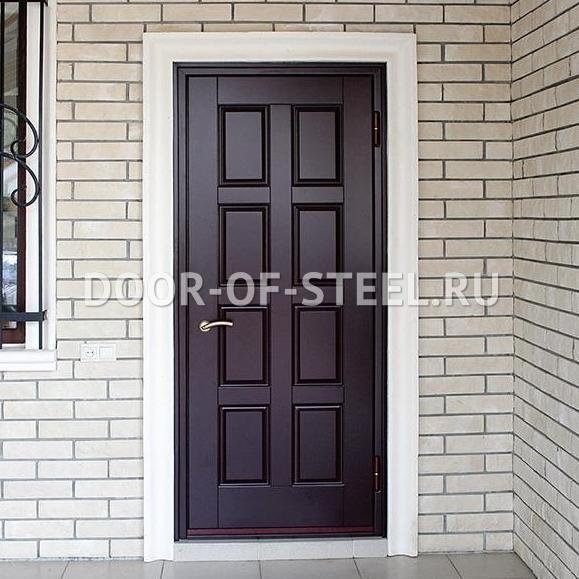 двери металлические входные уличные утеплённые в лобне
