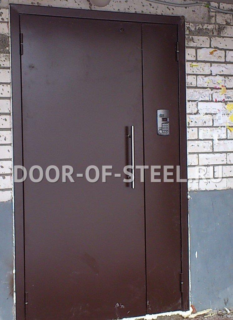 металлические двери подъездные скидки