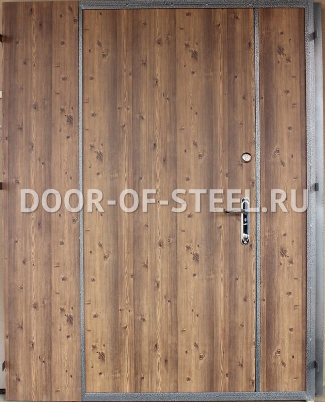 заказать простую металлическую дверь