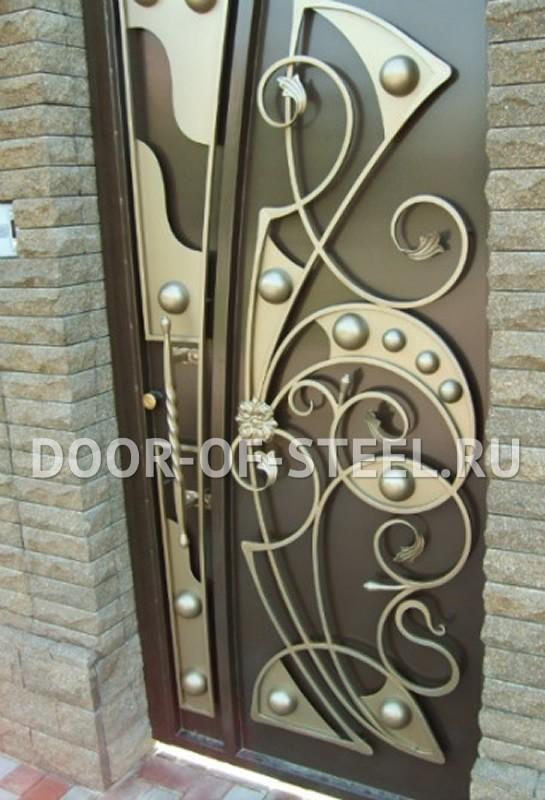 металлические двери входные ворота