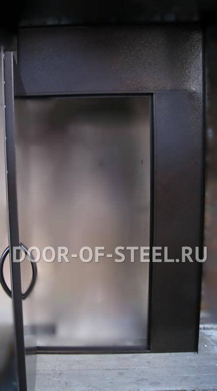 установка железных дверей с верхней вставкой в москве недорого