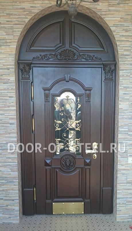 входные двери с остеклением от производителя
