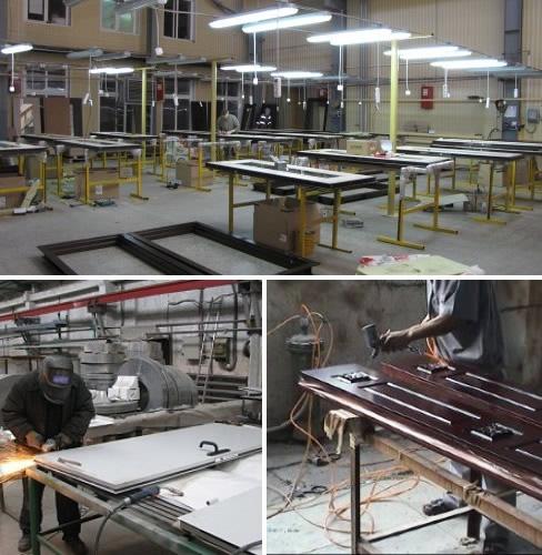 производство металлических дверей для производственных помещений