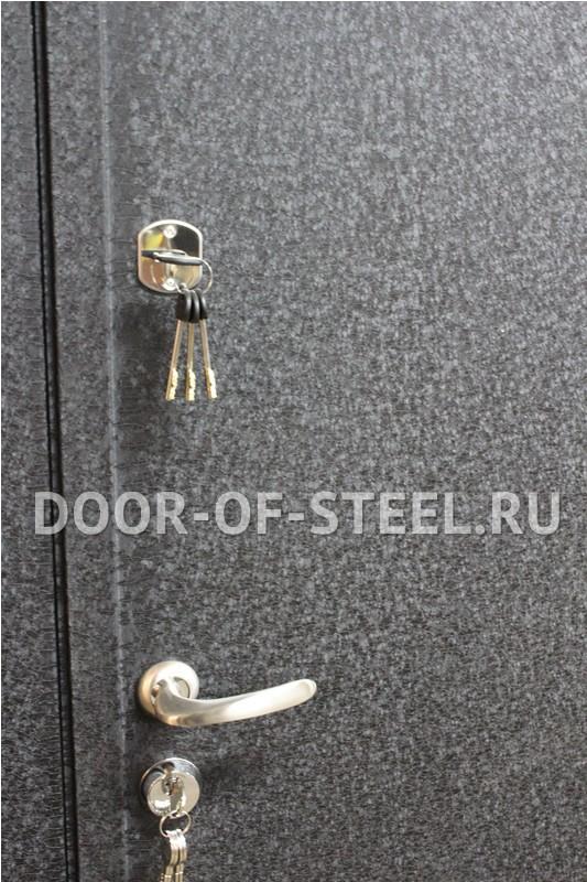 металлические двери с порошковым напылением черный крокодил в балашихе