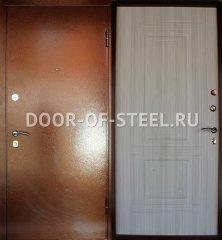 купить металлическую порошковую дверь