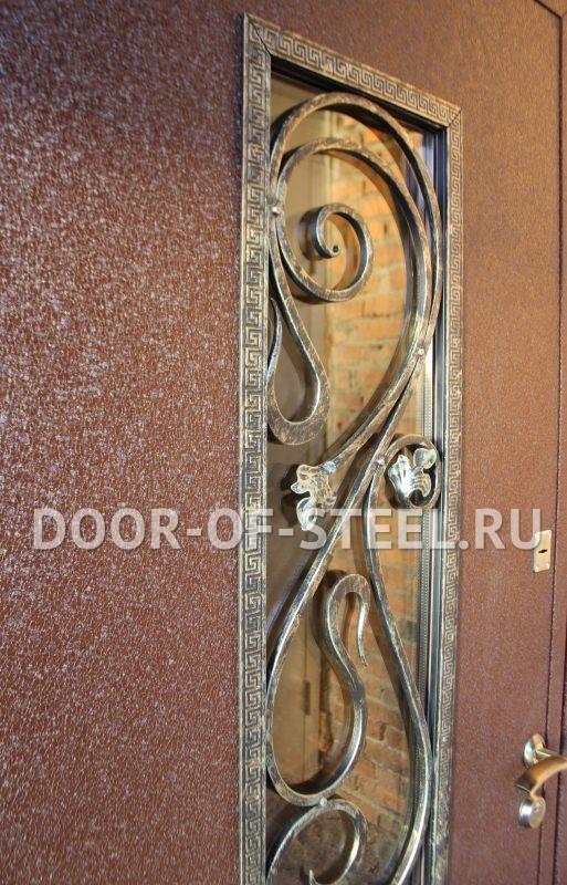 металлическая дверь с напылением под проем 210 на 90