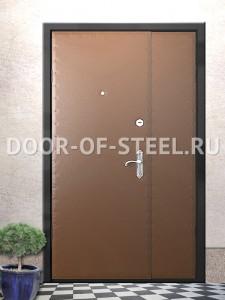 металлическая дверь на площадку с установкой