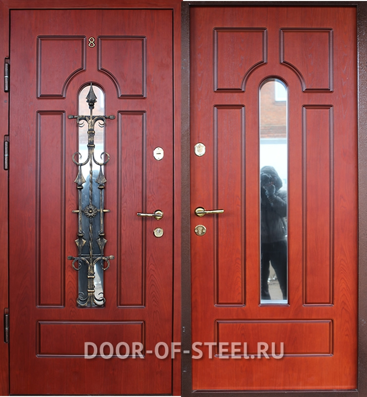 металлические двери в тамбур в москве